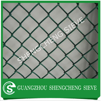 ALIBABA 6ft high removable plastic fence chain link fence