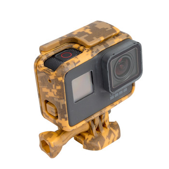 Gopros accessories Standard camouflage color Hero5 Frame Mount Protective housing for Gopros Heros 5 GP395C