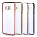 Hot selling electroplated soft tpu case for samsung s8/s8plus phone case cover