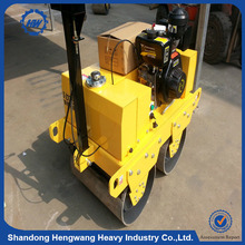 Air-cooled, 4-cycle, Gasoline single walk-behind vibration road roller