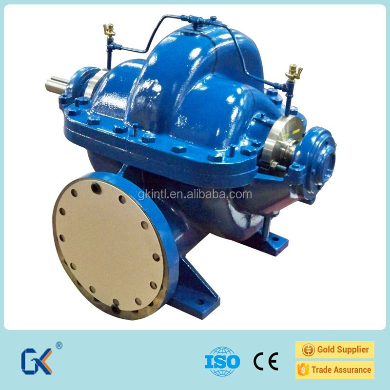 High Flow Rate Industrial Horizontal Split Case Centrifugal Pump