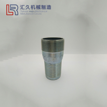 "Casting Threaded Hose Fitting,SS Hex KC Nipple 1"" BSPT Male hose nipple for irrigation"