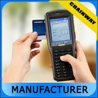 1D Barcode scanner, 125~134.2kHz LF RFID Reader, GPS, Wi-Fi/GPRS wireless Rugged Handheld PDA