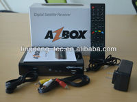 azbox bravissimo Twin Free SKS and iks Nagra 3 Amazonas Receiver Satellite TV Receptor