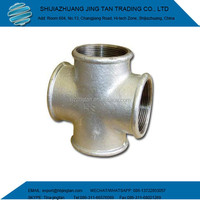 Electro& hot dipped Galvanized Malleable Iron Pipe Fittings Elbow Plug Nipple Socket