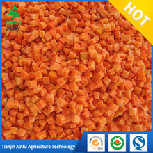 China Frozen vegetable Frozen IQF Carrot