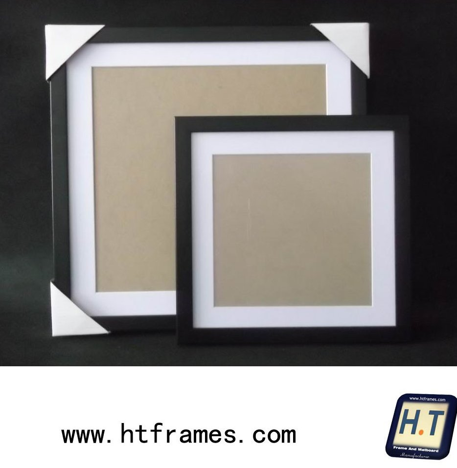 black gallery picture frame 10x10 14x14