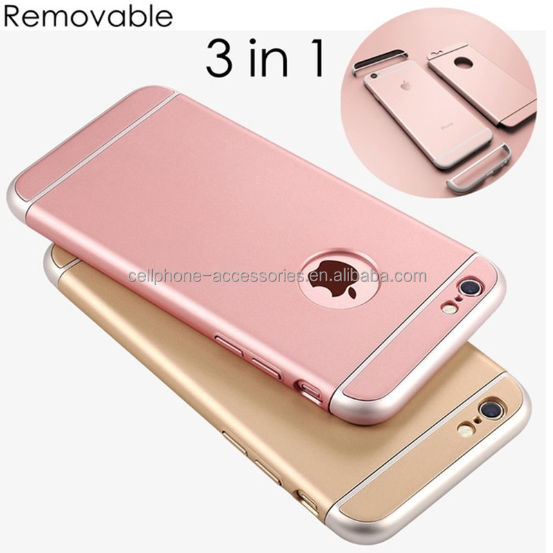 3in1 Case for iphone Ultra thin Hard Full Cover Mobile Phone Case for apple iphone5/6/7