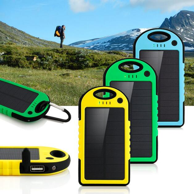 Portable Solar Mobile Phone Charger Solar Cell Phone Charger Solar Power Bank