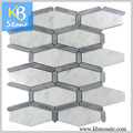 Hot China Products Wholesale A Grade White Grey Marble Stone wall tile