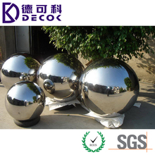 19mm-2000mm Size Hollow Stainless Steel Large Mirror ball for Water Fountain