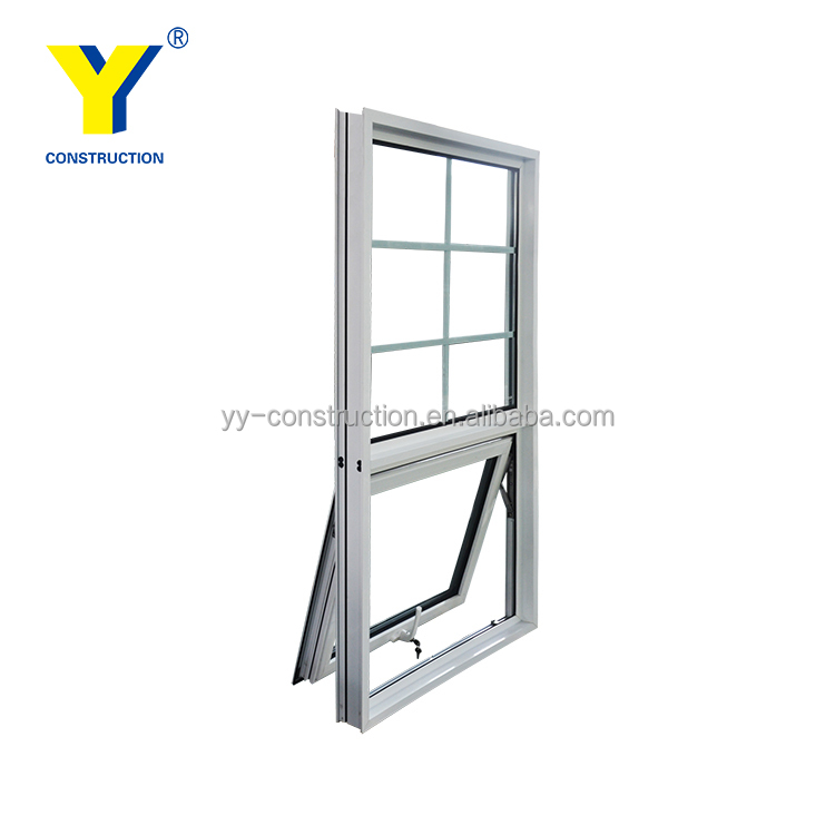 Aluminium awning window meet Australian standards AS/NZS2047 AS/NZS2208 double glazed windows top hung window with flyscreens