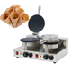 CE Certification Ice Cream Cone Waffle Maker /Waffle Lolly Machine /Small Corn Puff Snack Extruder Machine Price