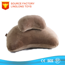 Soft Student Siesta Cushion Plush Table Headrest Brown Office School Arm Rest Desk Nap Pillow