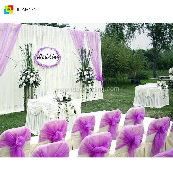 IDA Wholesale event decoration kits for wedding centre backdrop drapes