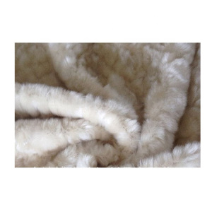 Customized promotional faux fur for slipper fabric