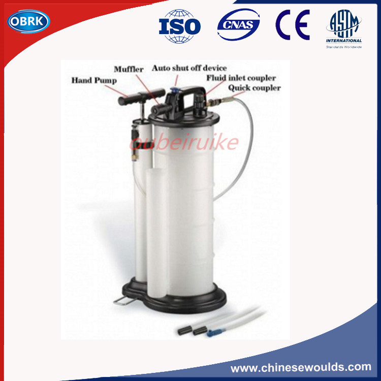 9.0L Liter Vacuum Manual & Pneumatic Fluid & Oil Extractor