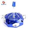 ZJMOTO MOTOCROSS WR125 OIL FUEL TANK CAP BILLET ALUMINUM CNC FIT TO DIRT BIKE HUSQVARNA
