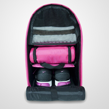 Ladies Gym Locker Organizer Backpack Bag in Hot Pink For Your Gym Locker &Travel