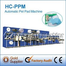 HC-PPM Sanitary pet pad making machine