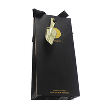Wholesale Fashion Empty Luxury Tea Gift Paper Bag With Handle