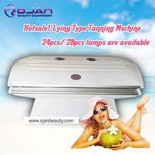 Hot sale!!! CE approved 24 Lamps Home use solarium tanning beds