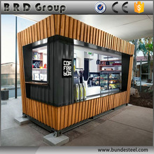 Beautiful 20ft container house/portable house for coffee shop