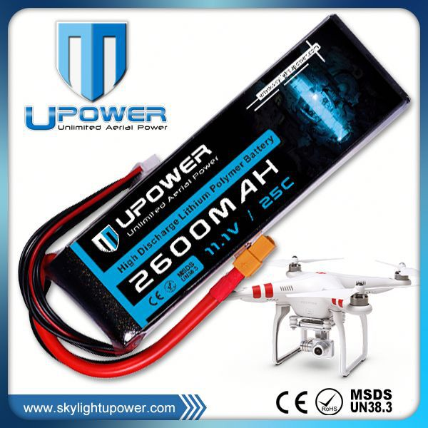 Upower 2200mah 3s1p 2250mah lipo battery pack for UAV FPV airplane models