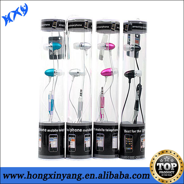 Colour Earphones With Mic for iPhone 3G 3GS 4 4S 5 5s