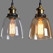 Clear Hanging Lighting Fixtures Indoor Pendent Light Hotel Glass Lamp Manufacturer