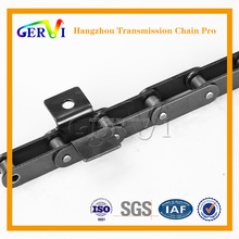 Double pitch drive roller chains for conveyor applications larger diameter rollers and hollow pin stainless steel