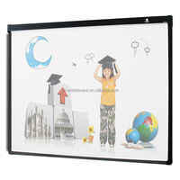 Office and school smart portable gloview 3d touch interactive whiteboard