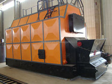4t/h Horizontal double-drum automatic coal/biomass fired steam boiler SZL4-1.25-M