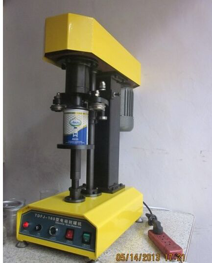 Tin can sealing machine/ tin can seamer/ semi automatic beer can sealer
