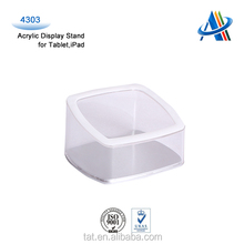 Acrylic display holder for Tablets/ iPad / dummy display stand for tablet pc