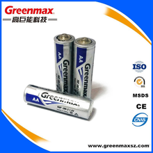 High quality carbon zinc 1.5v aa size r6p battery
