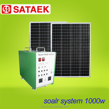 300W 600W 1000W solar generator systems portable solar power for home