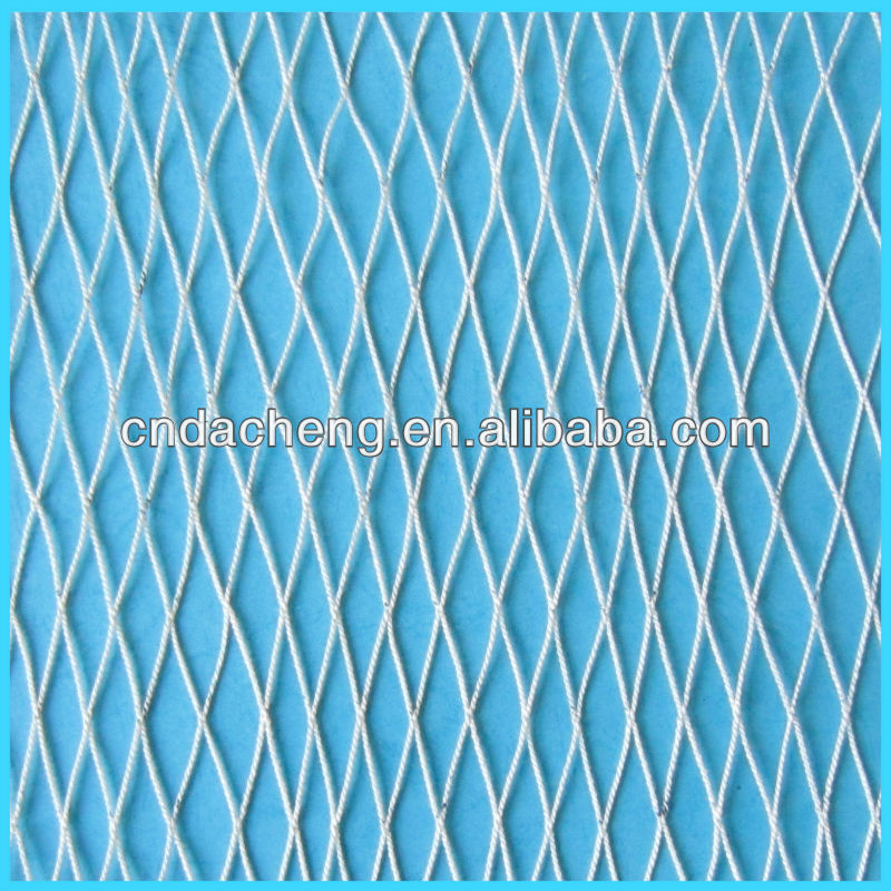 HDPE/UHMWPE Twisted Knotless fishing net