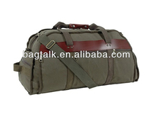 High Quality Green Army Canvas Duffel Bag