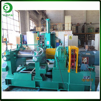 XK-250 Single Shaft Drive System Rubber Plastic Open Mixing Mills