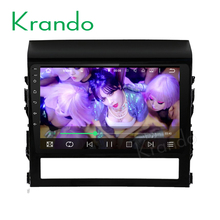 "Krando Android 6.0 10.1"" car radio navigation for toyota land cruiser 2016 2017 dvd gps multimedia player 4G LTE 2G RAM KD-TL116"