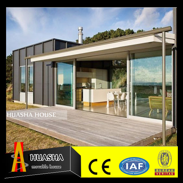 Reasonable price prefab steel modern house for Europe