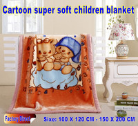 High quality customized 100% polyester mink baby blanket super soft