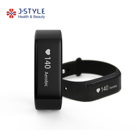 factory price wholesale waterproof heart rate monitor smart wristband watch with pedometer sleep monitor function