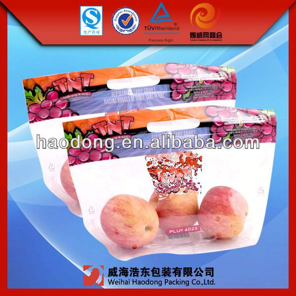 Factory supply custom make transparent color ziplock bags