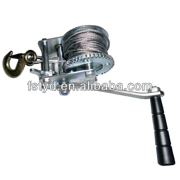 1200LBS ratchet winch cable pulling equipment