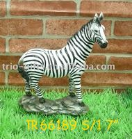 Zebra decoration,polyresin crafts