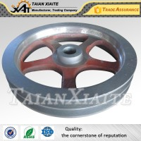 iron belt pulley
