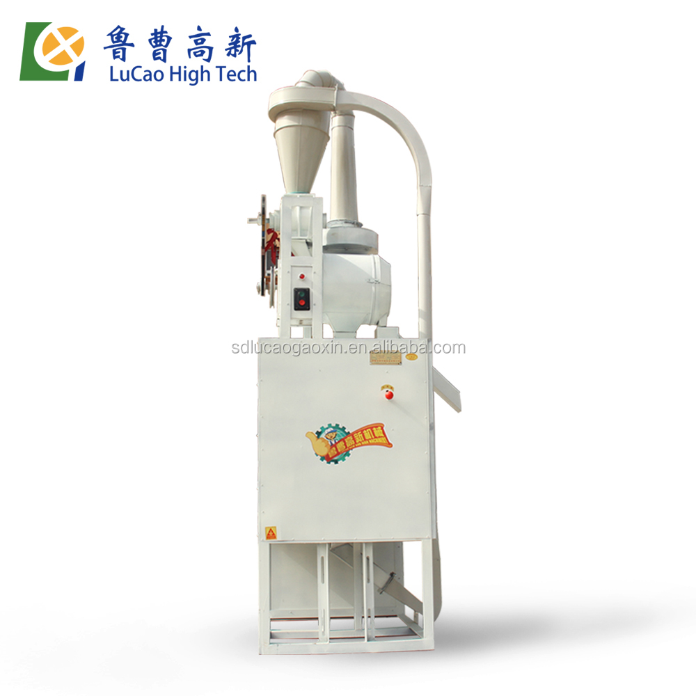 2016 small home use automatical corn maize flour mill machine for making fufu and ugali and sadza