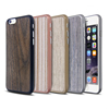 Ultra thin hand crafted real walnut wood phone case ,For iPhone wood case
